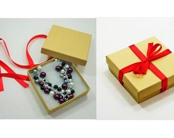 Gift Box - Add a Gift Box & Ribbon to any Polka Dot Drawer Jewelry Purchase