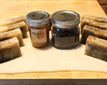 Honey Coffee Raw Soap Bar