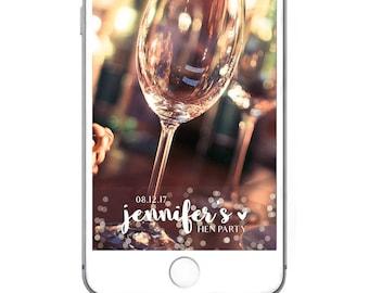 Bachelorette Snapchat Filter   Custom Bachelorette Snapchat Geofilter   Hen Party Snapchat Filter   Wedding Snapchat   Wedding Filter