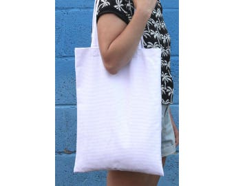 White! Corduroy Shoulder Bag