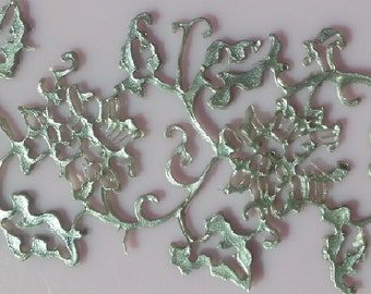 FLOWER DELICATE LACE Ready To Use Edible - Party Decorations, High Tea, New Year, Baby Shower, Graduation