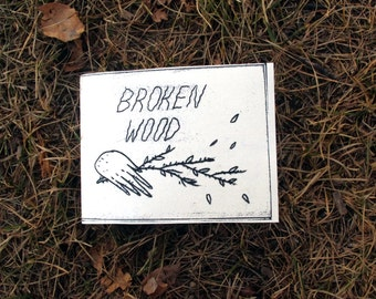Broken Wood - Photography Zine