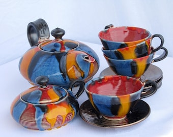 Unique Hand-made Tea Service