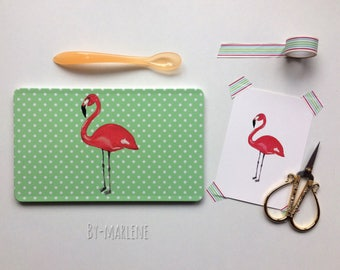 Breakfast Board Flamingo