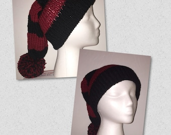 Long slouchy hat any color combo