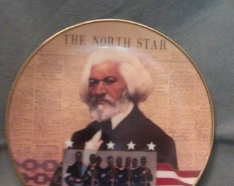 The North Star The Proud Heritage Frederick Douglass Plate