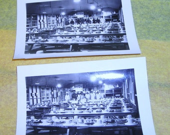 Vintage World War Two Photos ....Army Mess Hall.....MRE'S Anyone