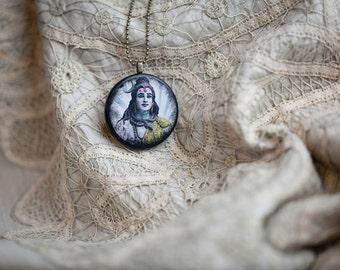 Lord Shiva Necklace, Yoga Pendant