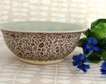 Cereal Bowl - Ceramic Bowl - Serving Bowl - Dip Bowl - Hand Thrown Bowl - Stoneware Bowl - Ready to Ship