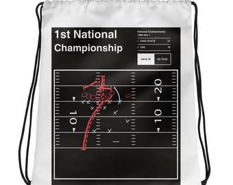 Ohio State Football Drawstring Bag: 1st National Championship (1969)