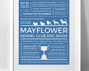 BEST IN SHOW Typography Print