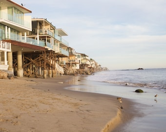 Malibu, Coast, Beach House, Ocean, Sea, California Coast, Travel, Print, Wall Art, Fine Art, Photograph, Waves, Sunset