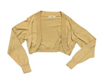 90s Y2K Cropped Cardigan
