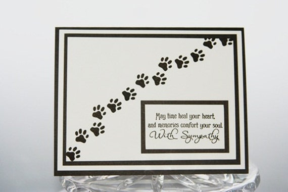 It is a graphic of Peaceful Free Printable Pet Sympathy Cards