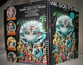 Thank God It's Friday album cover notebook