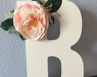 Simple Floral Letter