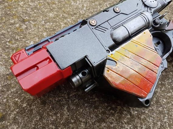 nerf gun custom paint