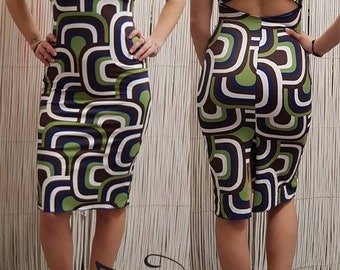 Romina's Tango dress geometric