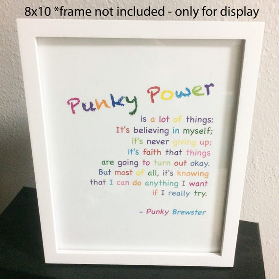 Digital Download Punky Power Definition Punky Brewster