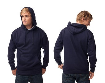 Men's Hoody - Any Design in Our Shop on a Hoody with Custom Colors - S M L XL 2x - Hoodie Sweatshirt