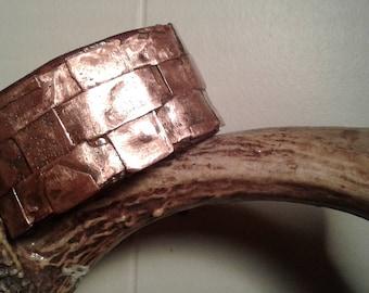 copper wrist cuff