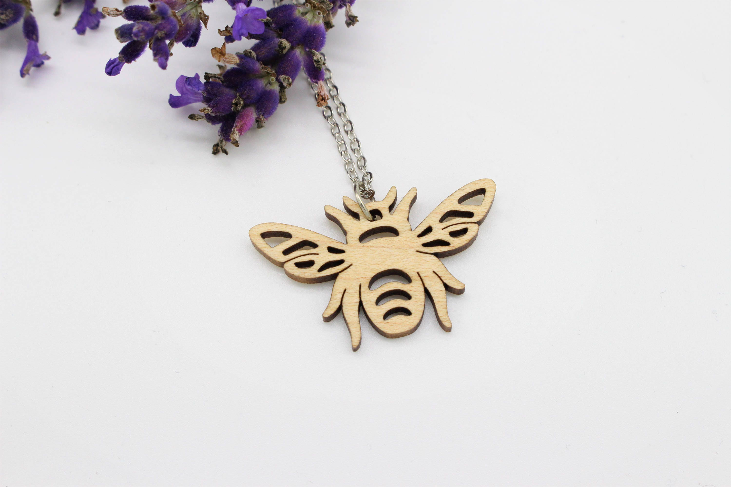 original cubic pendant bee product honey bumblebee necklace honeybee
