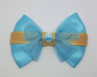 Jasmine Inspired Hair Bow | Aladdin Inspired Hair Bow | Disney Inspired Hair Bows