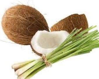 Coconut Lemongrass Premium Fragrance Oil Available In Several Sizes