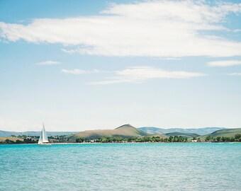 The White Sailboat-  Landscape Utah Photography 12x8