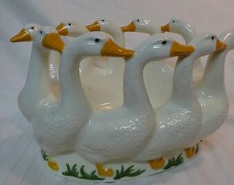 Rare McKee Goose Bowl