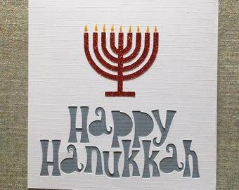 Happy hanukkah 1pc happy hanukkah greeting card m4hsunfo