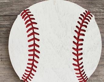 Baseball Door Hanger Etsy