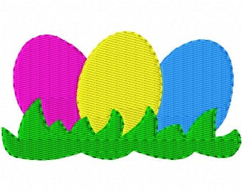 Embroidery Design, Easter Egg Hunt  // Joyful Stitches