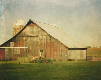 Country Barn - 5x5 Fine Art Photograph