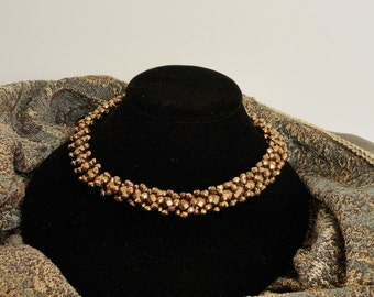 Simply Dazzling in Gold Necklace