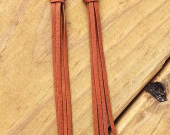 Leather Fringe Tassel Earrings Western/Boho/Gypsy style