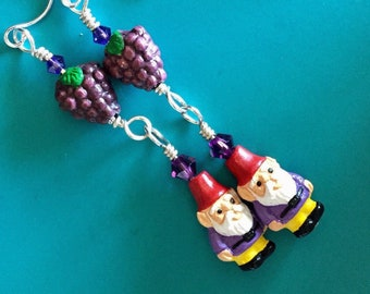 Gnome Vineyard Earrings
