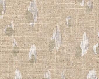 Shower Curtain Asher Animal Print Chalk White Metallic