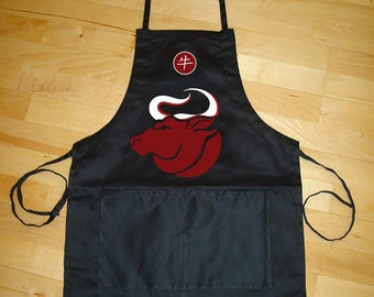 Bull (OX) Apron for entertaining, barbecue (BBQ) - Summer BBQ Sale