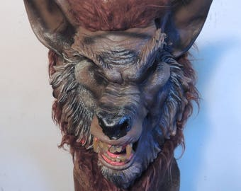 ScaryAdult Sized, Werewolf Mask, Classic 80's Horror style Like Movies Howling,Silver Bullet,Company Of Wolves,  Bad Moon, Etc, COOL MASK!!!