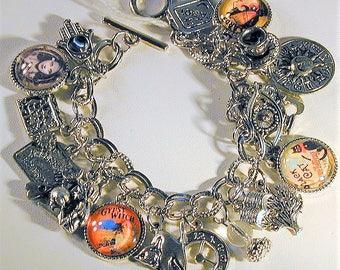 Fortune Teller Inspired Charm Bracelet OOAK