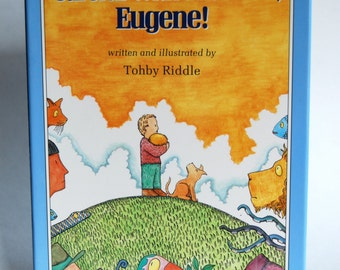 Vintage Children's Book, Careful with that Ball, Eugene! First US Edition