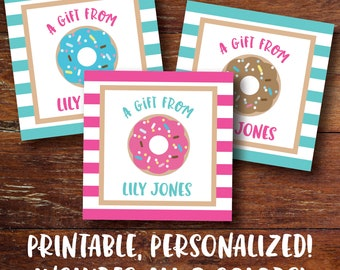 Printable Enclosure Cards, Printable Gift Tags, PDF, Birthday Cards, Small Cards, Gift Cards, Tweens, Digital Printable File, Personalized