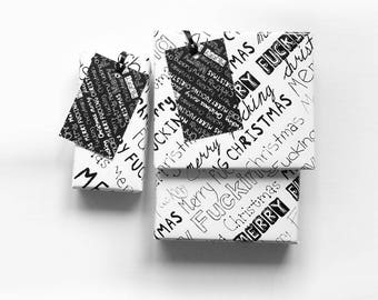 Sweary Christmas Wrapping Paper