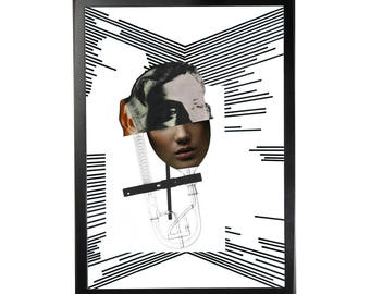 Art print posters from the series La Vie en ligne #12 (in A3)
