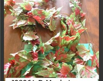 Fall Maple Leaf Foliage Garland - 9 feet - 1 pkg - #J98961D