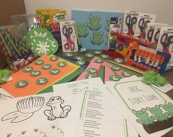 Frog Story Time - Group Kit