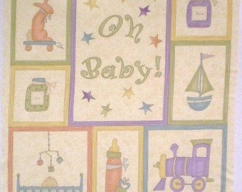 Oh Baby! panel by Sandy Gervais, Moda