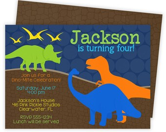Dinosaur Invitation, Dinosaur Birthday Invitation, Dinosaur, Dinosaur Invites, Invitation, Dinosaur Birthday Party, Printable Invitation 416
