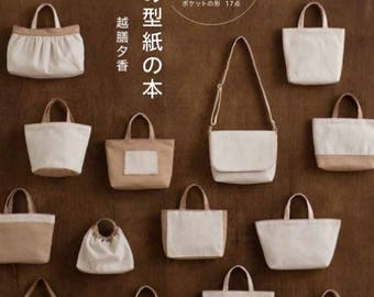 Bag pattern book - japanese pattern book for bags